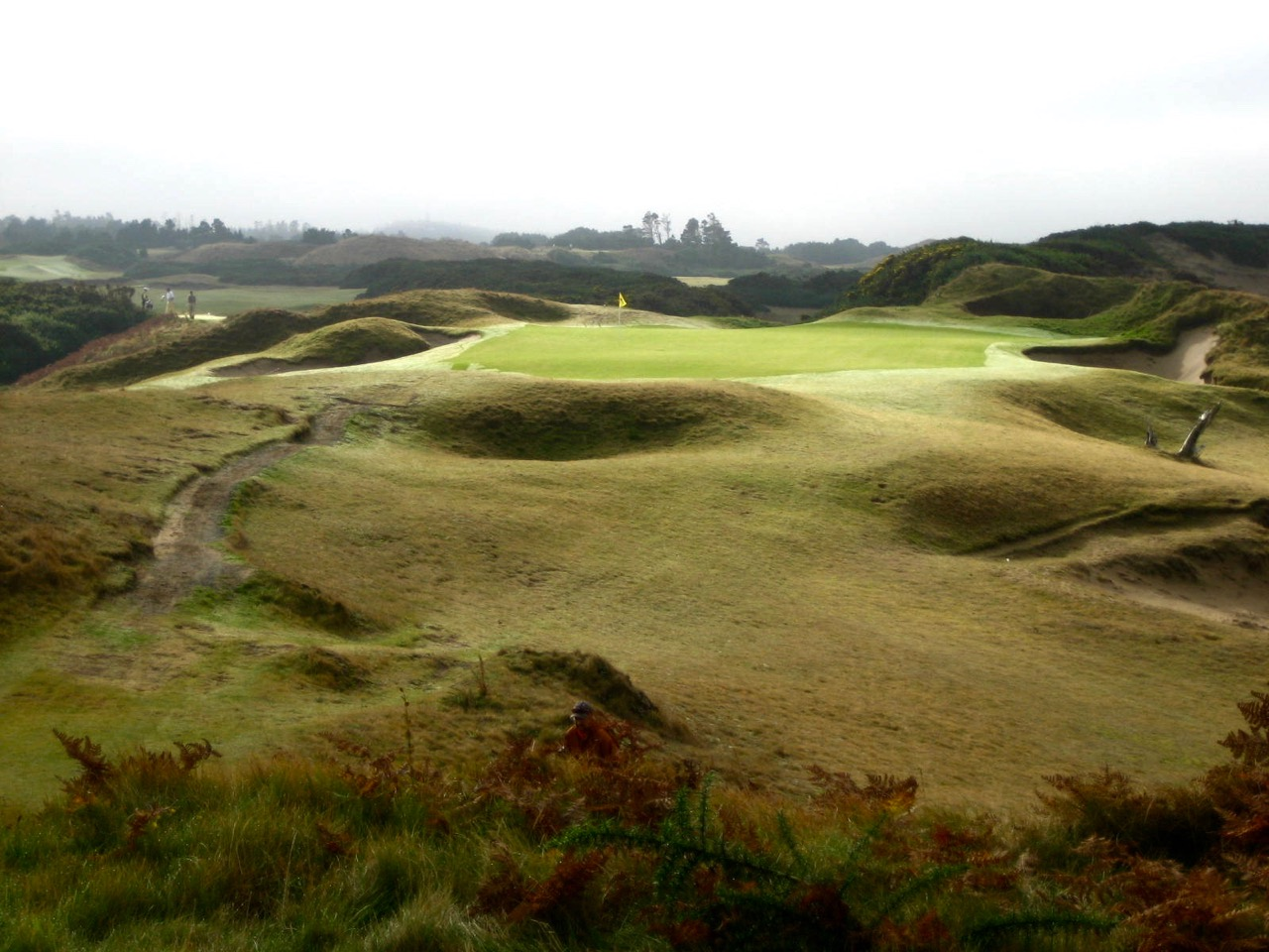 Bandon Dunes Oregon Map.Pacific Dunes Blurred Lines Feed The Ball
